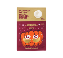 Load image into Gallery viewer, Pumpkin Hydra Gold Eye Gel Patch