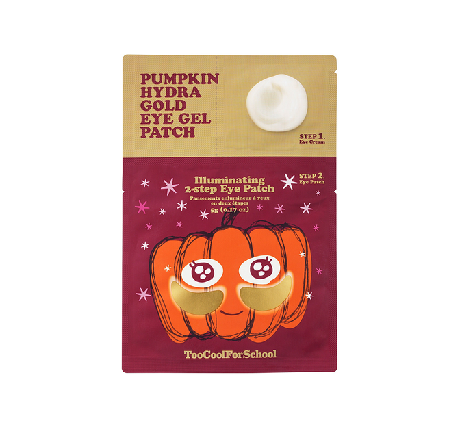 Pumpkin Hydra Gold Eye Gel Patch