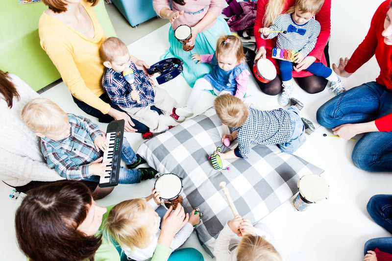 7 Great Ideas for Baby Classes and Early Activities