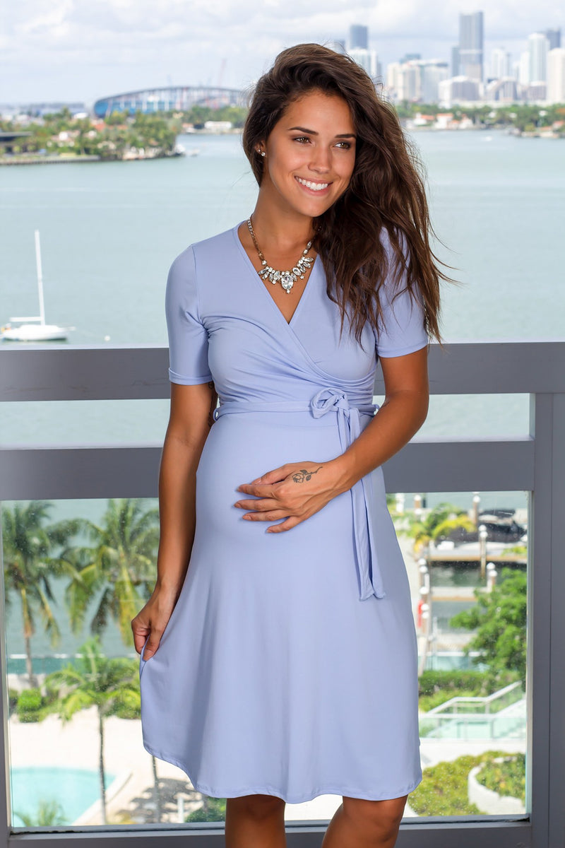 Light Blue Short Dress New Arrivals, Dresses, Short Dresses Vanilla Bay/ VD7912- Light Blue $13.75