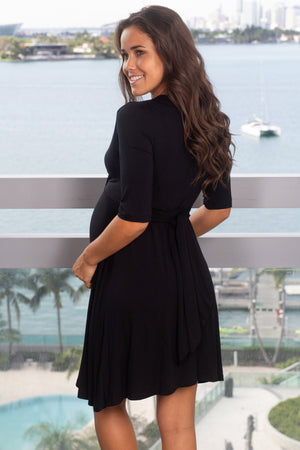 Black Short Dress with Tie Back New Arrivals, Dresses, Short Dresses Hello Miz/ CMD1036 - Black $13.75