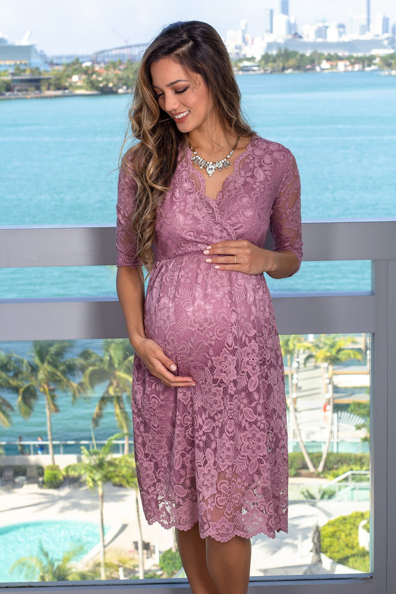 Lace Maternity Dresses