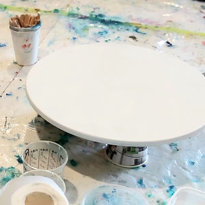 Primed Round Art Board - 30cm - Belong Design