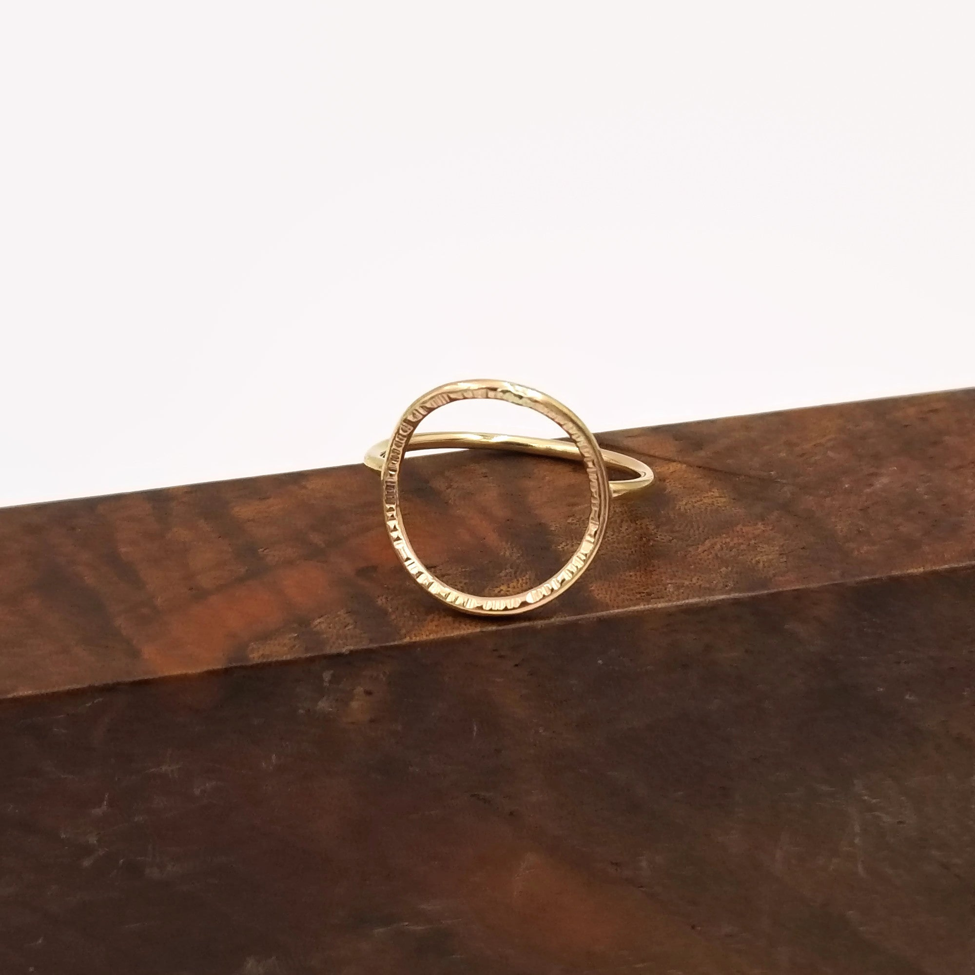 Explosion Ring-Gold