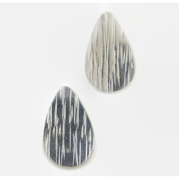 Sterling Tear Drop Earring- Rain, Good Luck