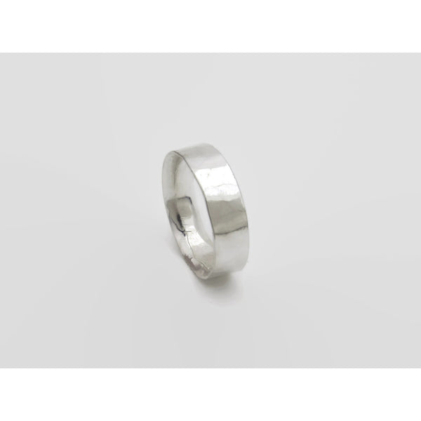 Rustic Faceted Comfort Fit Band