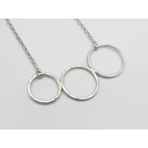 Circle of Friends - Sterling Silver Necklace