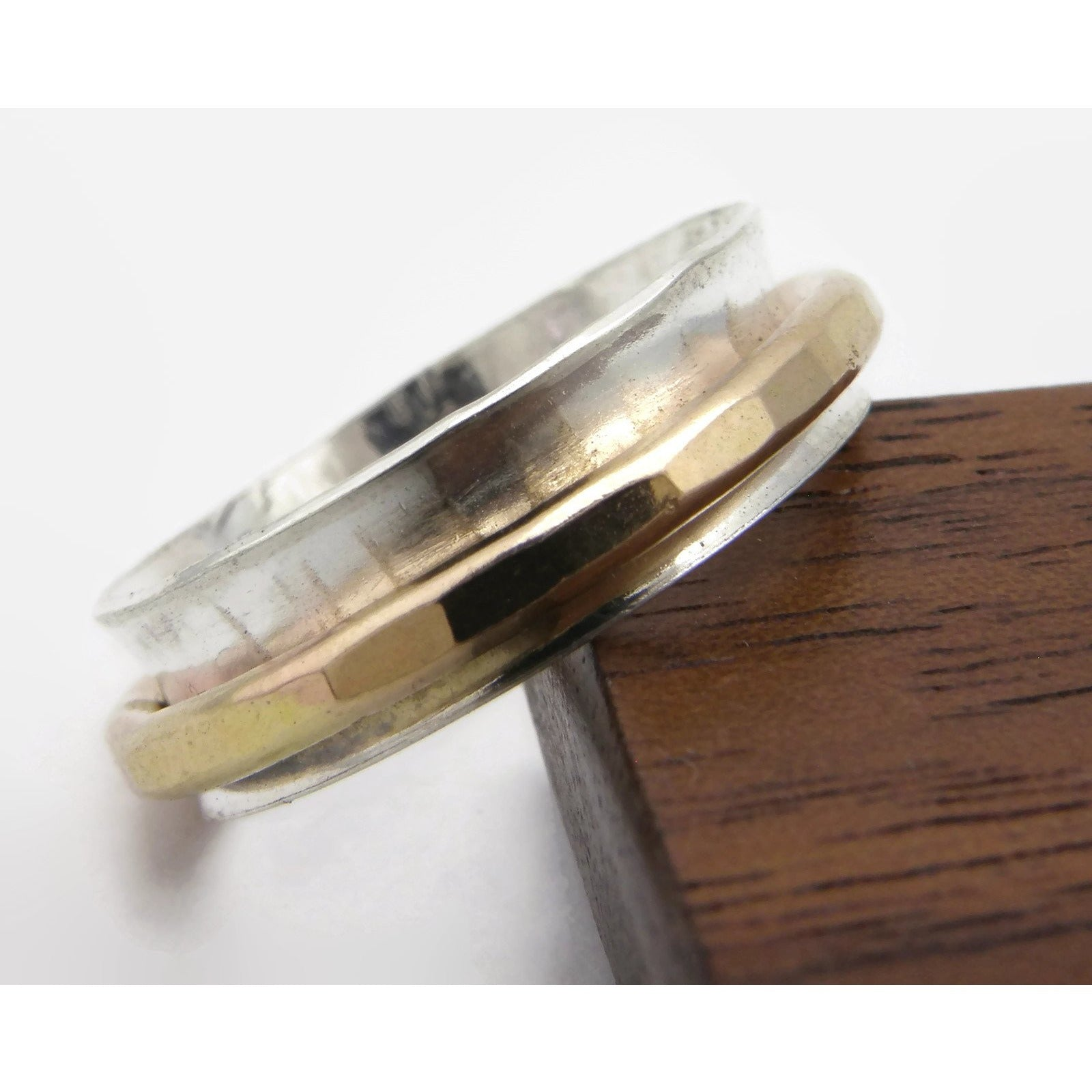 hammered simple collections products img sol gold rings original ring thin modern stacking solid textured