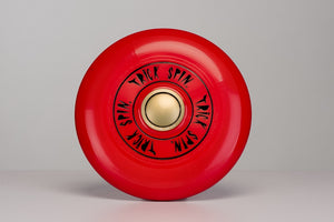 Trick Spin Flying Disc Red