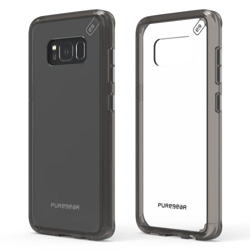 PureGear Slim Shell Pro for Samsung S8 - Clear/Light Gray - Raza Shop