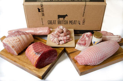 Easy-carve Christmas Meat Hamper