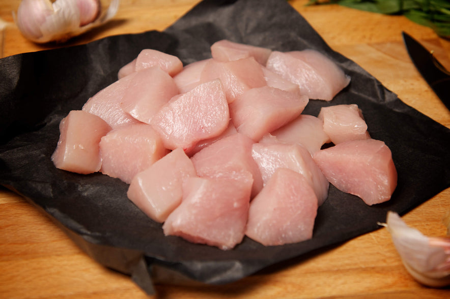 Diced Chicken Breast