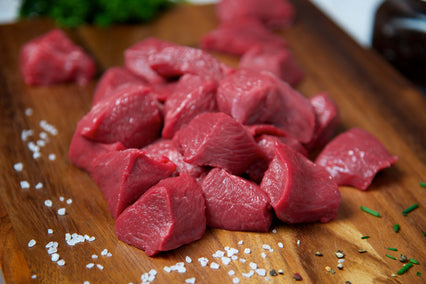Diced Beef Steak
