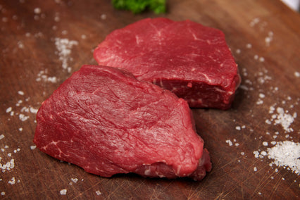 Hand cut Beef Fillet Steaks - 170g/6oz