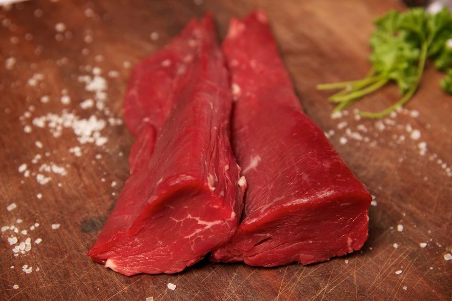 Fillet Tail Beef Steaks - 170g/6oz
