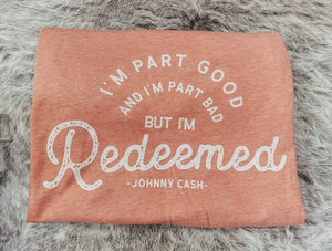 But I'm Redeemed