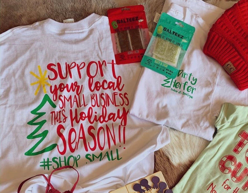 Holiday Small Business Tee