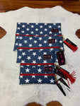 Red White & Beautiful Makeup Junkie Bags