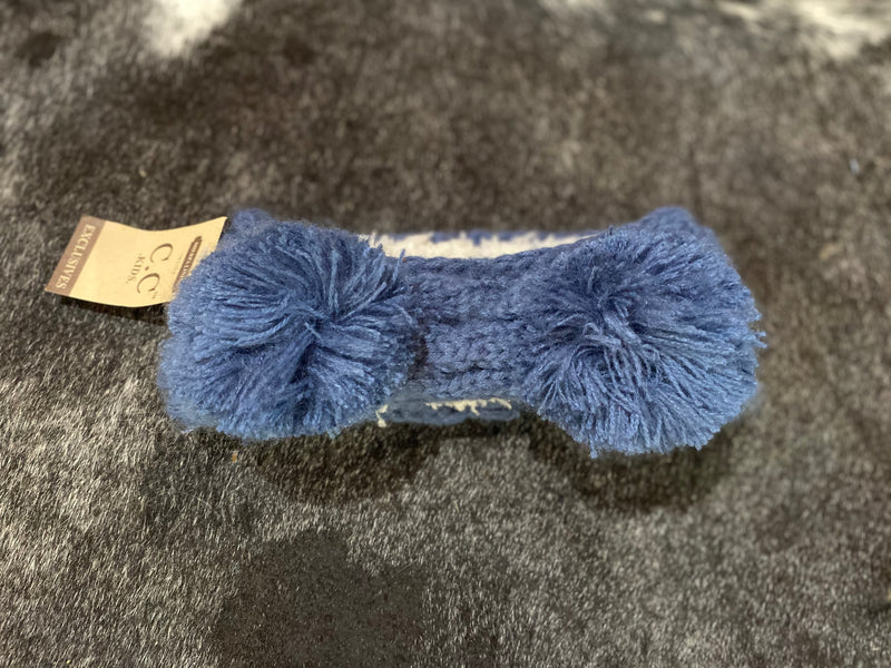 C.C kids double Pom headband