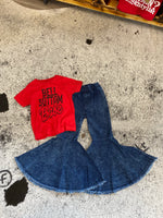 Acid wash bells (toddler)