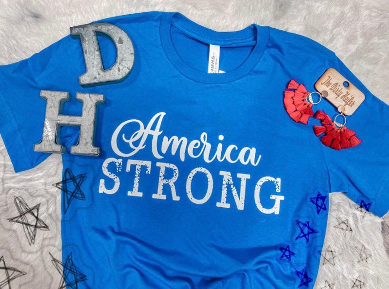 America Strong Royal Blue