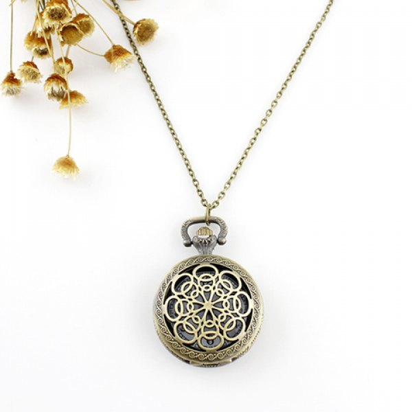Filigree flower pocket watch pendant necklace babee boudoir filigree flower pocket watch pendant necklace aloadofball Image collections