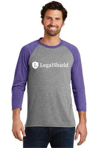 Mens Adult Legalshield Baseball Tee