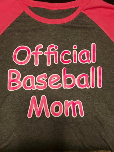 Official Baseball Mom Photo