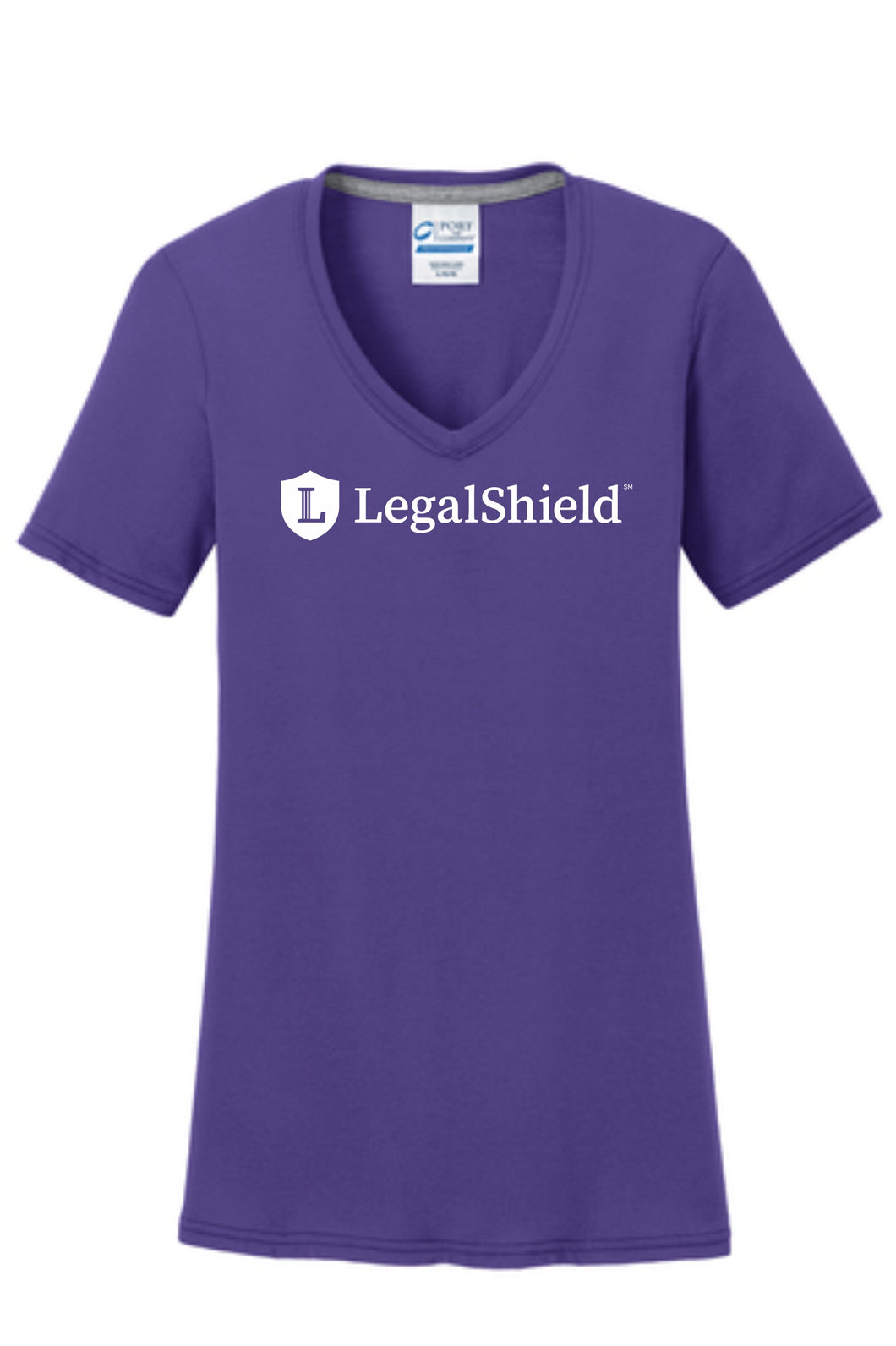 LegalShield Purple V-Neck