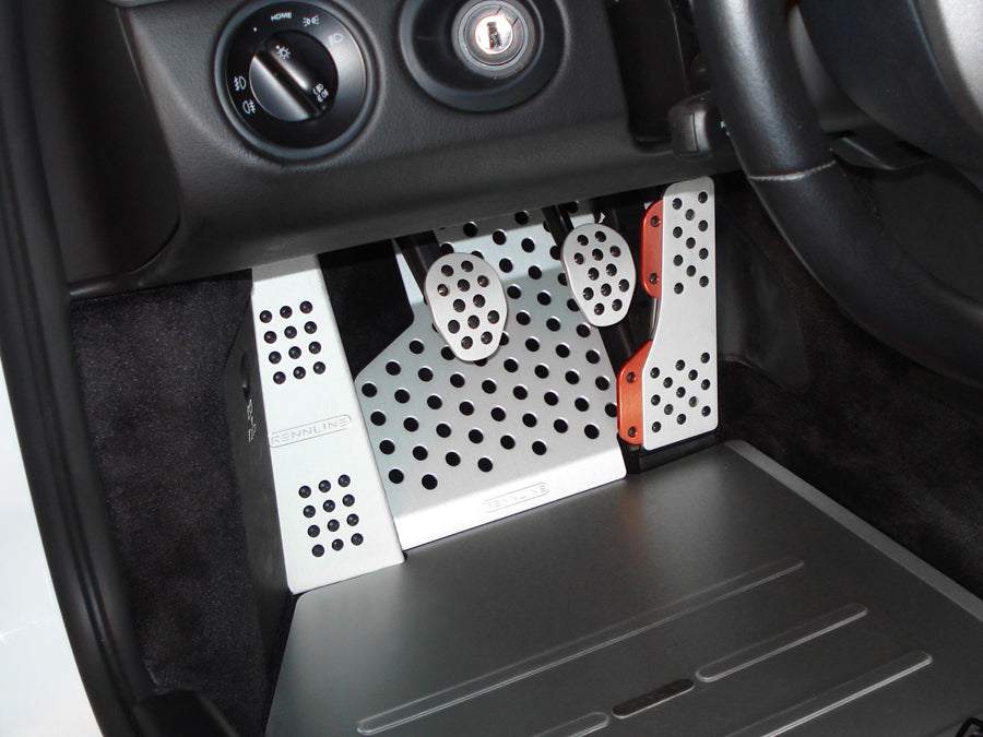 Rennline Silver Aluminum Perf Floorboard Driver Side Fits 996//986//997//987//Cayman