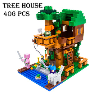 Minecraft The Jungle Tree House