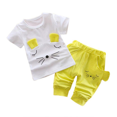 Baby Girl Cat Set