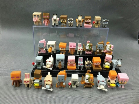 Minecraft Micro World Action Figures