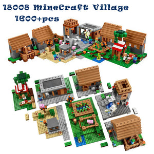 1600+pcs Minecraft Model Building Kits