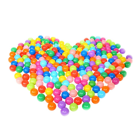 100PC Kids Ball Colorful Fun Soft Plastic Ball Pit Balls