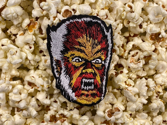 Clasic Universal Horror Monsters Wolfman Iron-On Patch