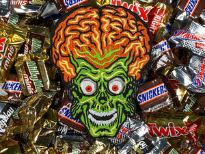Mars Attacks! Martian Iron-On Patch