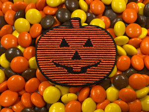 Halloween 3 Season of the Witch Digital Pumpkin / Jack o' Lantern Iron-On Patch
