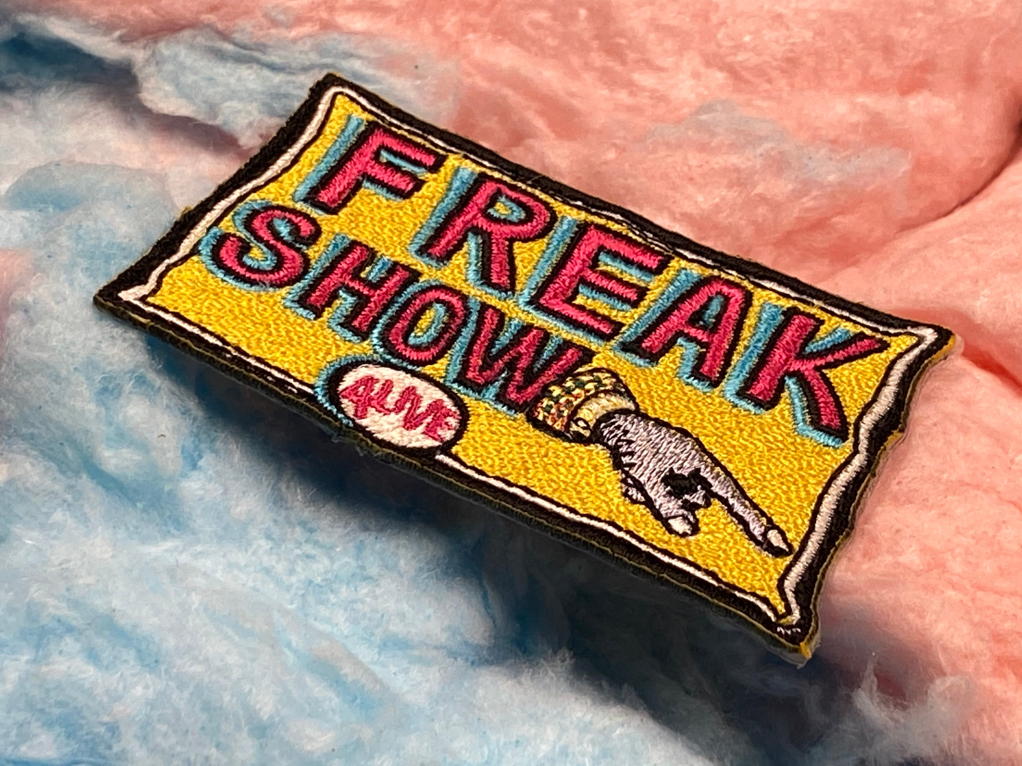 ALIVE Freak Show Iron-On Patch