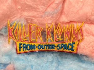 Killer Klowns / Clowns From Outer Space Logo Iron-On Patch
