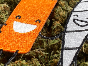 Best Buds Weed Joint 420 Iron-On Patch