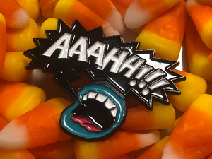 AAAHH!!! Real Monsters Nick Toons Scream Queen Soft Enamel Pin