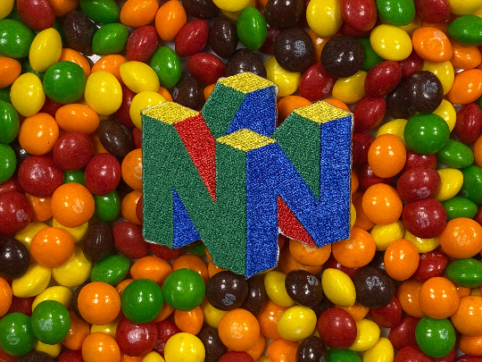N64 logo Iron-On Patch