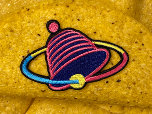 Demolition Man Future 2032 Neon Sign Taco Bell Logo Iron-On Patch