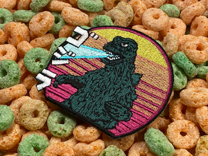 Godzilla Gojira Iton-On Patch