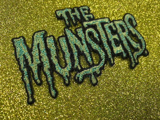 The Munsters Television Logo Iron-On Patch