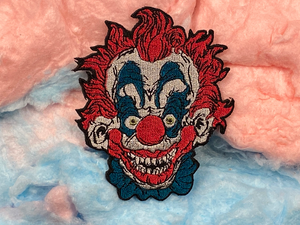 Killer Klowns / Clowns From Outer Space Iron-On Patch