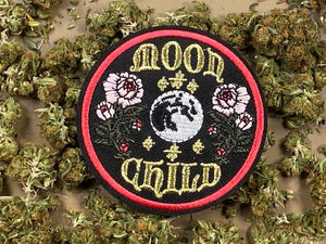 Moon Child Iron-On Patch