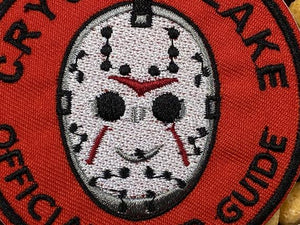 Jason Vorhees Camp Crystal Lake Official Tour Guide Iron-On Patch