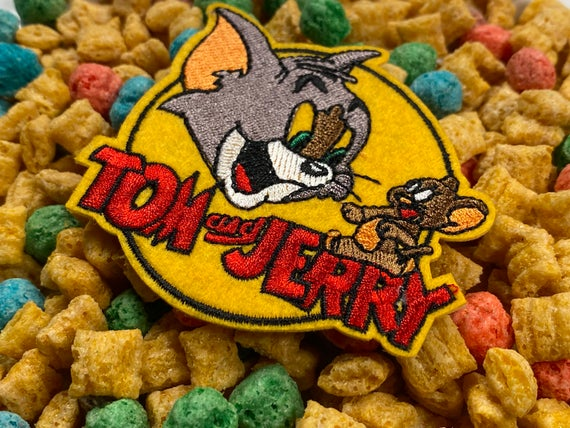 Tom & Jerry Iron-On Patch